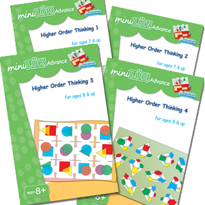 miniLUK Advance for age 7 and above - Higher Order Thinking Pack